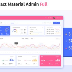 React material admin full