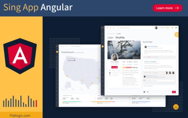 Angular Admin Dashboard Template