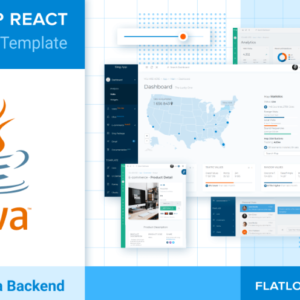 React Admin Dashboard Template with Java Backend