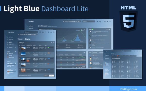 Free and Open Source Bootstrap Admin Dashboard Template